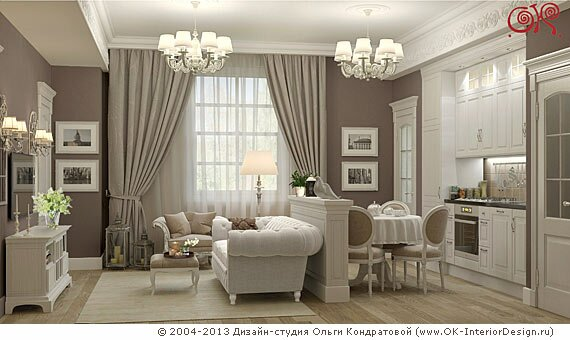 Фото дизайна квартиры 39 кв