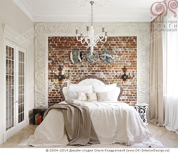 Смешение стилей в интерьере спальни