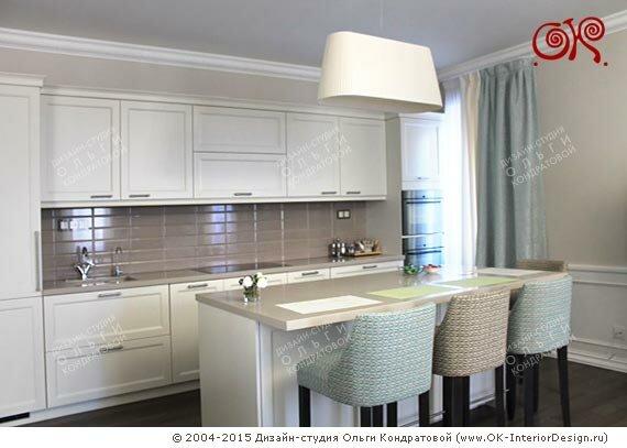 Белые кухни дизайн в стиле